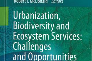 New Book on Urbanization, Biodiversity and Ecosystem Services