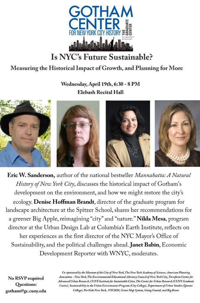 Gotham Center, Is New York's Future Sustainable_REV